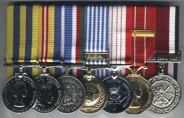 Korean War medals