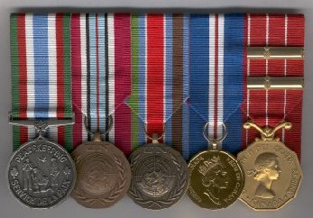 Peacekeeping medals